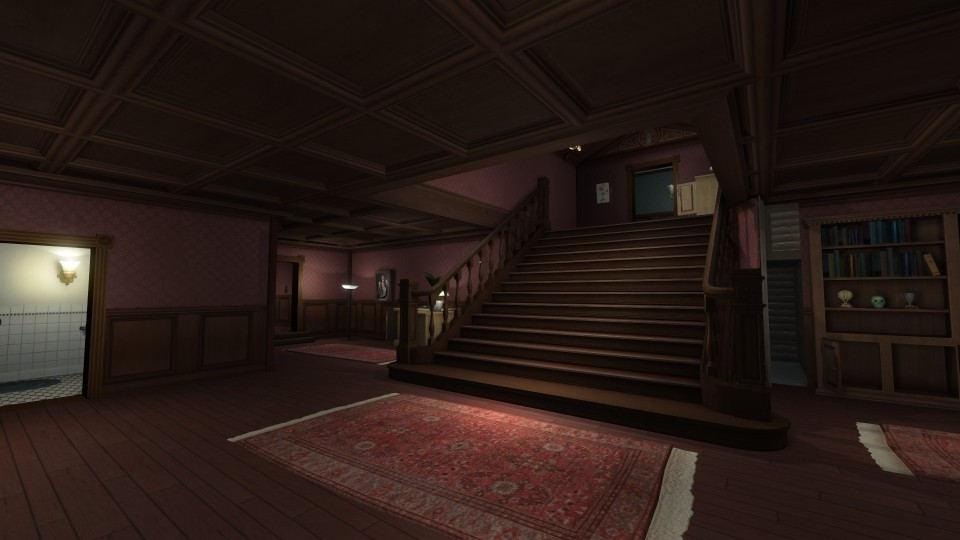 Gone Home Lesson 1 Writes Of Passage Annotating A Foyer