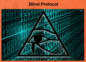 Blind Protocol intro presentation slide.